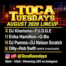 Toca Tuesdays