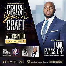 Crush Your Craft feat Tariq Evans, CFP