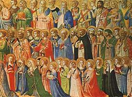 Homélie de la Fête de la Toussaint C - Mathieu 5, 1-12a