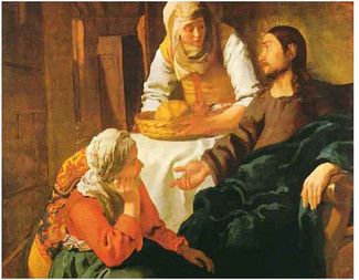 Homélie du 16ème dimanche ordinaire C - Luc 10, 38-42