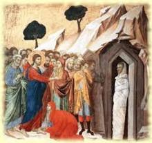 Prières du 5ème dimanche de Carême B - Résurrection de Lazare
