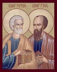 Homélie du dimanche de la solennité de Saint Pierre et Saint Paul (Père Jacques Weisshaupt)
