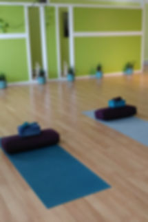 Therapeutic yoga space to complement counselling
