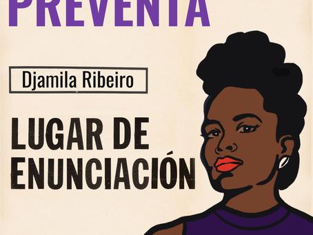 """Preventa de """"Lugar de enunciación"""", de Djamila Ribeiro"""