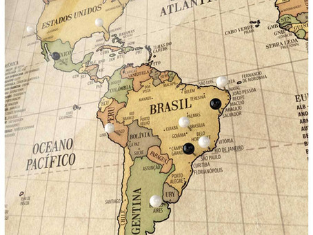Literatura de Norte a Sur de Brasil