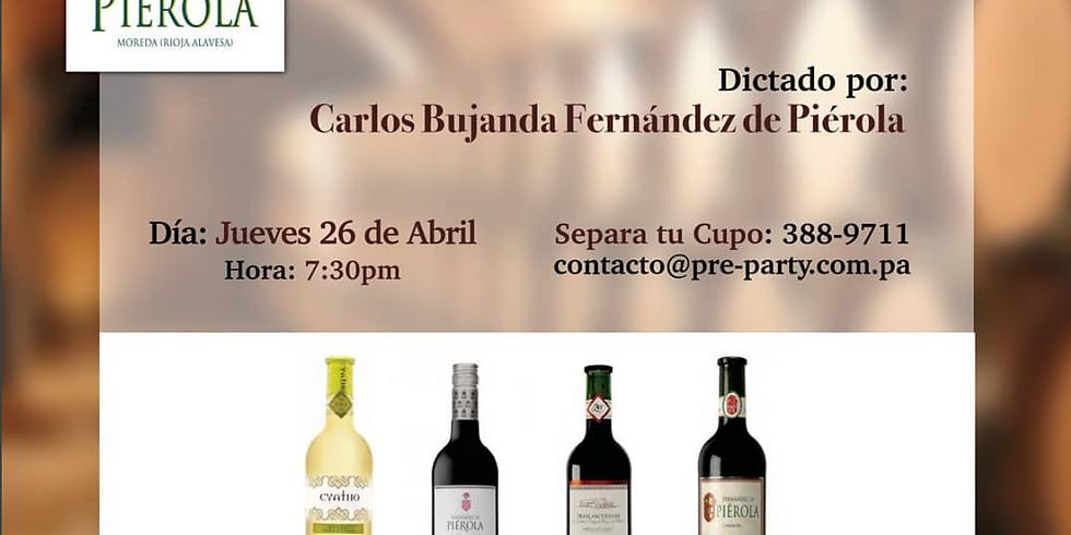 Cata de Vinos Fernández de Piérola