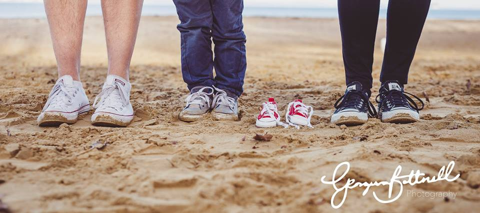 baby announcement photography wight