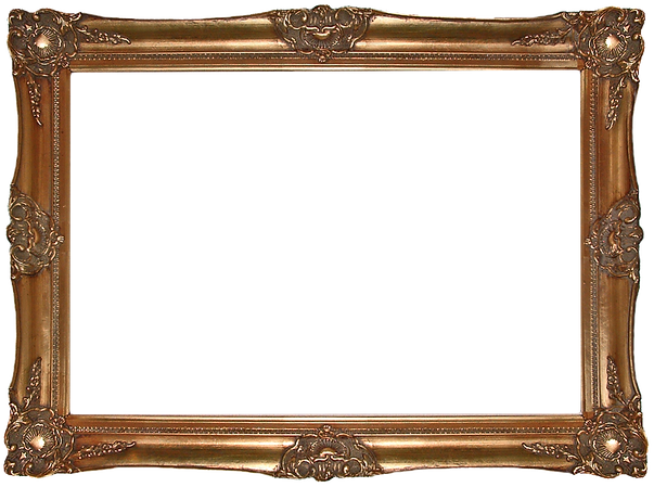Decorative Vintage Guilded Gold Picture Frame