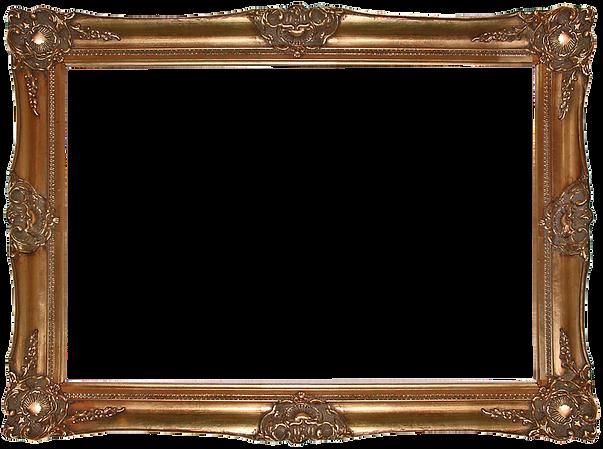 Decorative Vintage Guilded Gold Picture Frame