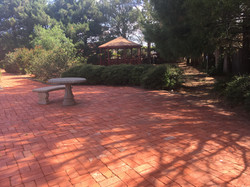 gazebo park courtyard