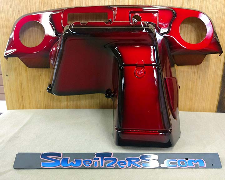 1994 1/2- 2013 EZ-GO Custom Painted Dash - Call For Pricing