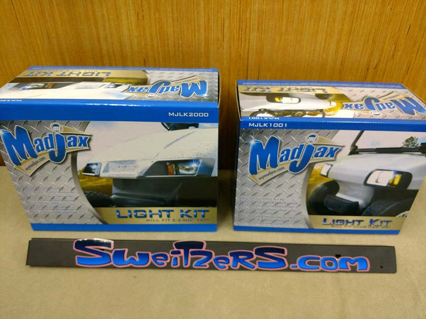 A large variety of light kits available t