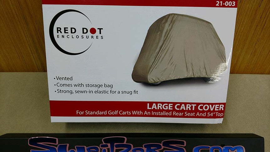 Universal golf cart cover fits standard