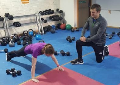 Dundalk Fitness Trainer Explains Push Ups