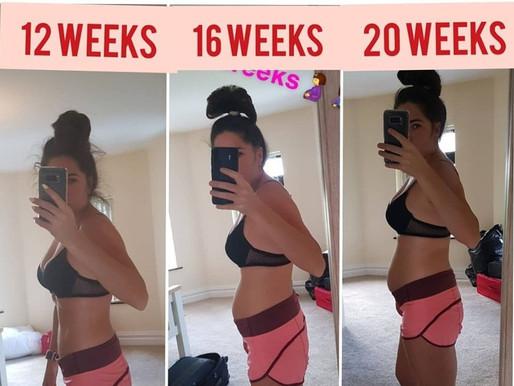 Exercise when Pregnant advice