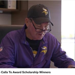 Zimmer Makes Calls to Award Scholarship Winners