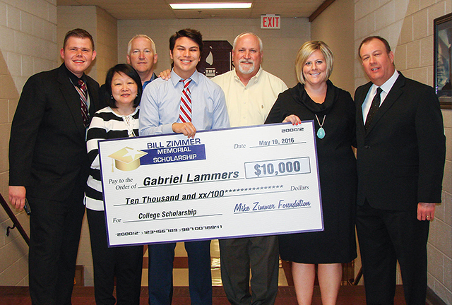 MZF Awards $10,000 scholarship.