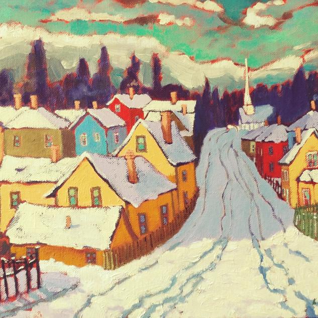 Winter Scene, Chemainus