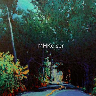 Mount Newton X Road, 24''x24'' oil on canvas
