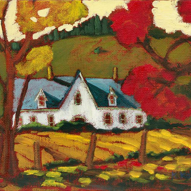 Farmhouse, Mount Newton