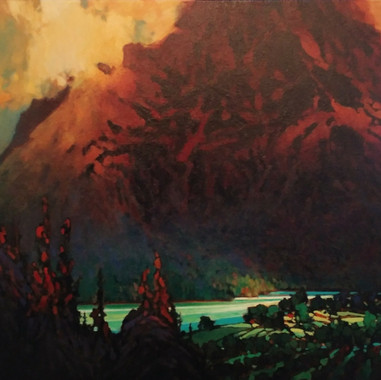 Similkameen Valley, 20x24, oil on panel