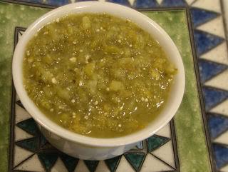 Basic Green Chile Sauce