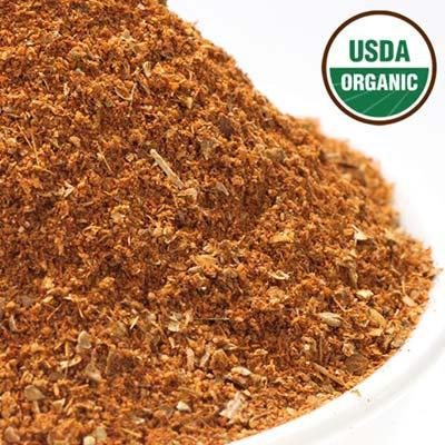 Organic Moroccan Vegetable & Meat Seasoning - Salt Free