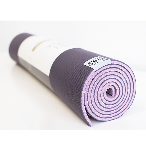 Premium Yogamat | Mesmerizing Purple | Slijtvast - 6 mm