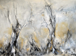 River Deep, Craig McKeough, charcoal and pastel