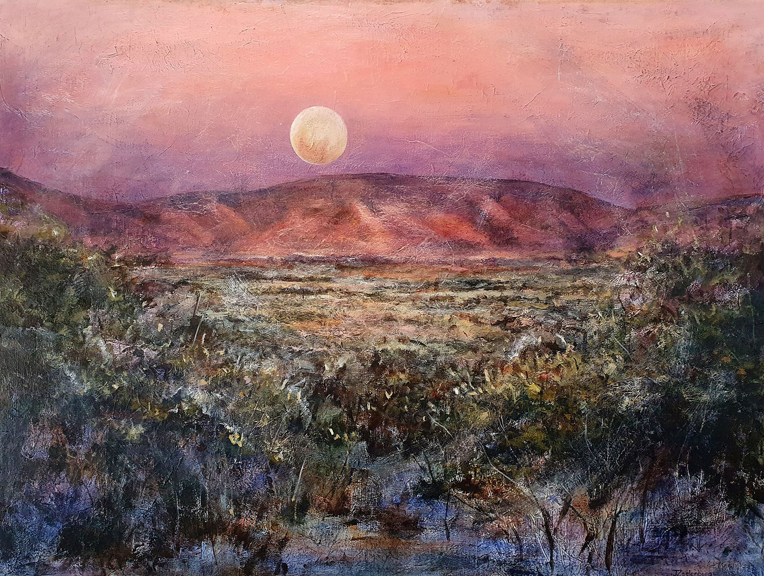 Inland Moonrise