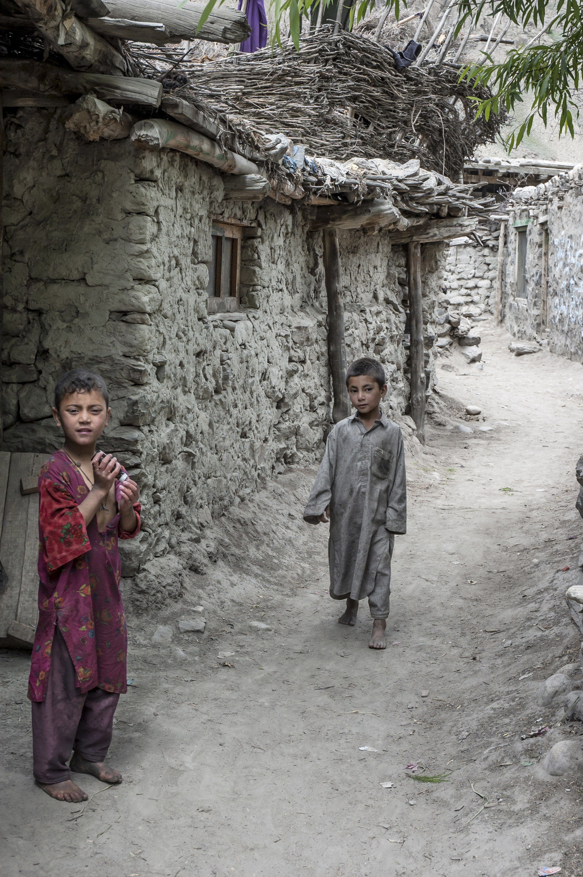 Pakistan- Children in Hushe