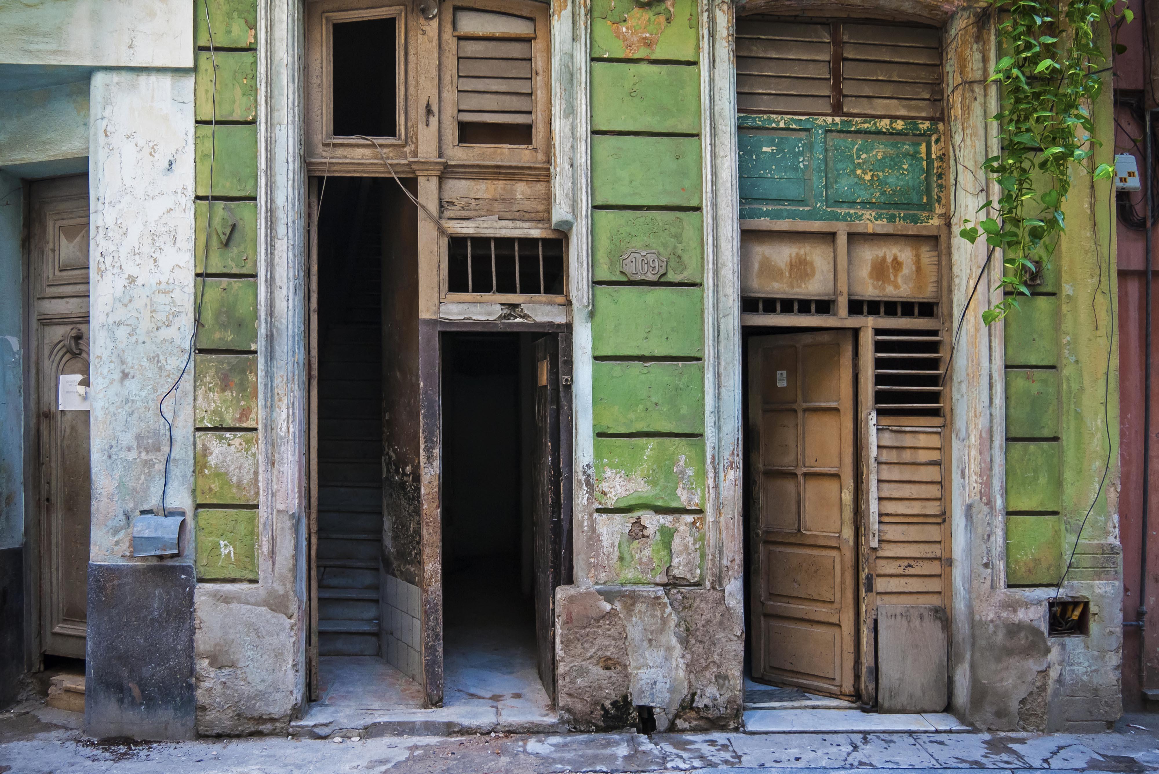 Doorways - Havana Cuba