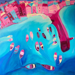 St Ives In Pink