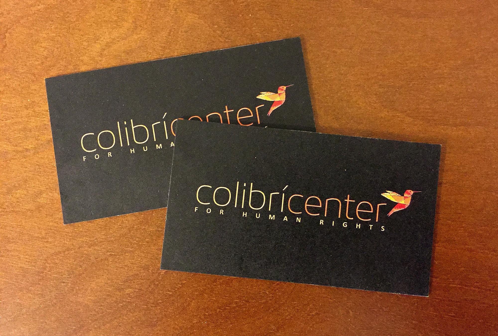 John Stobbe Design   Business Cards Colibri Center