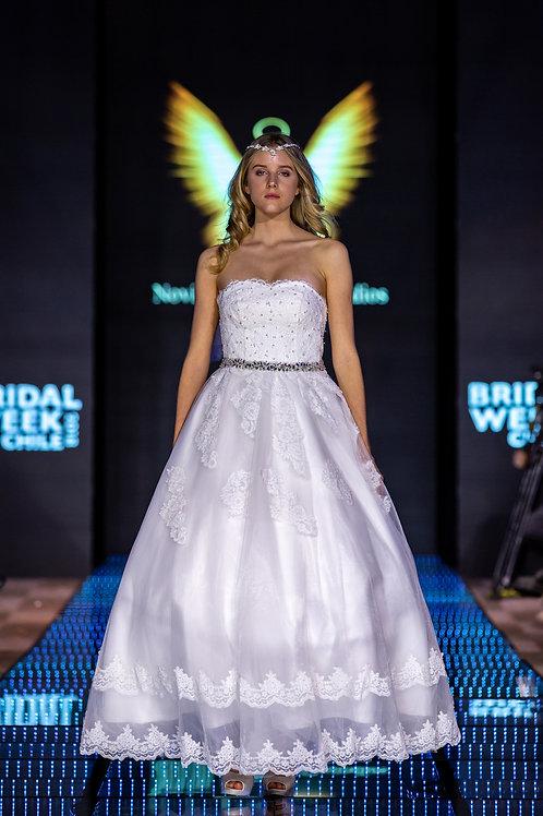 Vestido de novia Strass