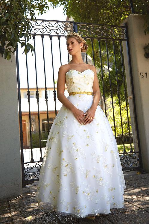 Vestido de novia Princesa Dorada