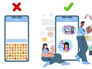 Emoji Keyboards Didn't Work But Conversation Media Does