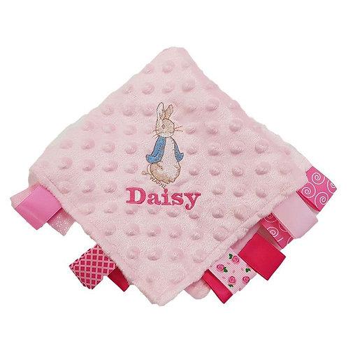 Personalised Baby Comforter - Peter Rabbit