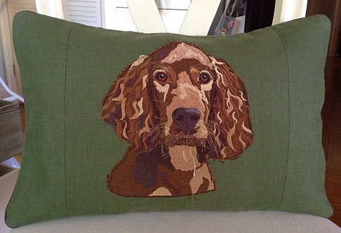 Red Setter Cushion