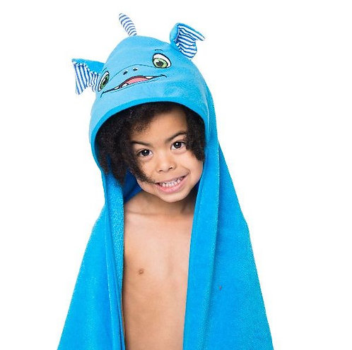 """Personalised """"Scorch Dragon"""" Hooded Towel"""