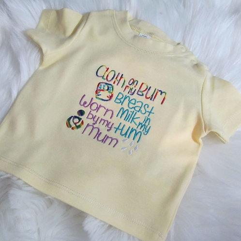 Cloth Bum T-Shirt
