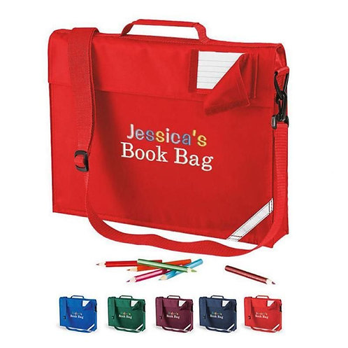 Personalised School Bookbag
