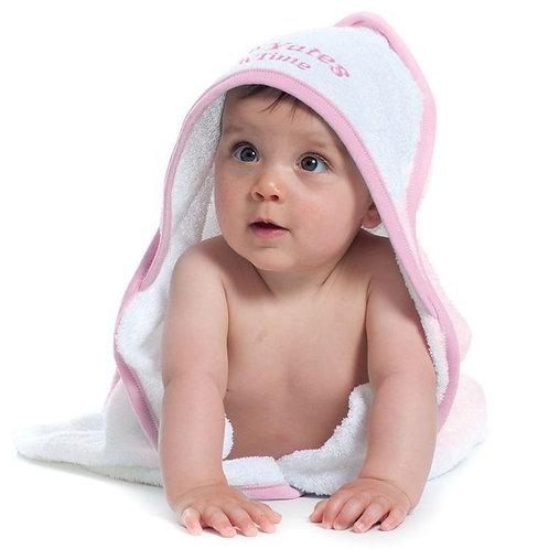 Personalised Baby's Hooded Towel