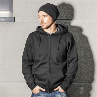 copy of Heavyweight Hoodie (zip) with logo on left chest