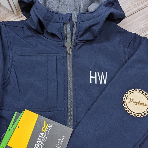 Personalised Regatta Soft-shell Jacket with hood