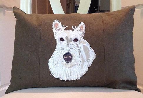 Scottie/Scottish Terrier Cushion