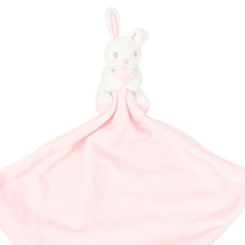 Personalised Snuggle Buddy - Pink Rabbit
