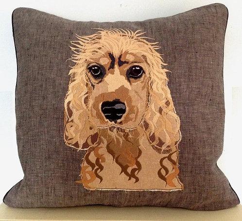 Cocker Spaniel Puppy Cushion