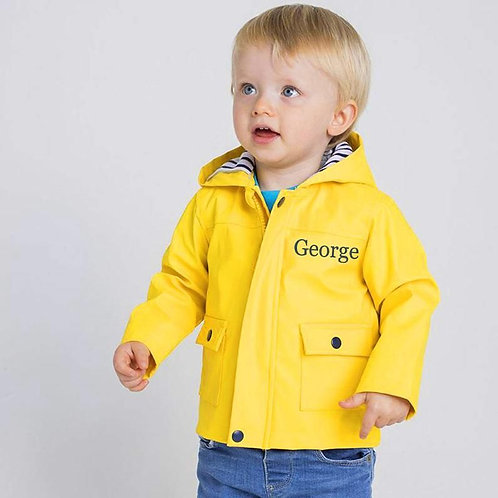 Personalised Traditional Toddler's Raincoat