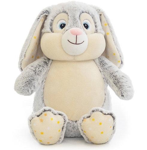 Grey Star-Bright  Bunny
